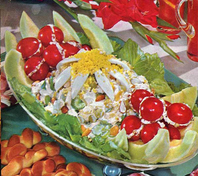 Beautiful gross 50 s 60 s food images sea lion designs - Cuisine sixties ...
