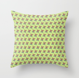 Simple Floral Pillow