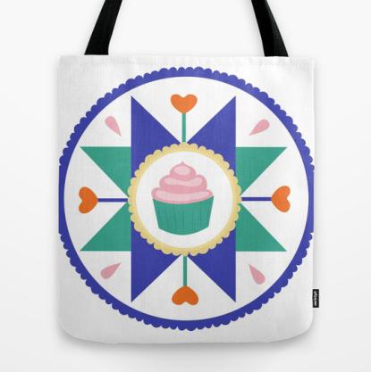 Cupcake Hex Tote