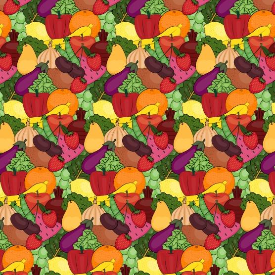 FruitandVegPattern-01